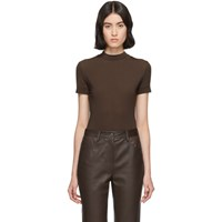 The Row Brown Elan T Shirt