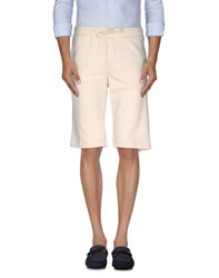 Sun 68 Trousers Bermuda Shorts Men Ivory