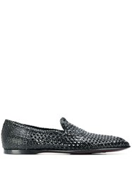 Dolce And Gabbana Florio Slippers Black
