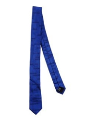 Dirk Bikkembergs Ties Bright Blue