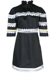 Cynthia Rowley Whitley Scalloped Embroidered Dress 60