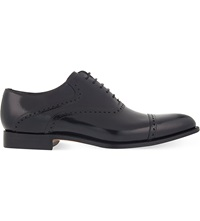Barker Wilton Oxford Shoes Black