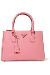 Prada Galleria Medium Textured Leather Tote Pink