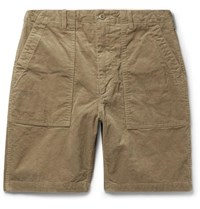 Engineered Garments Cotton Corduroy Shorts Sand