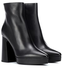 Proenza Schouler Leather Ankle Boots Black
