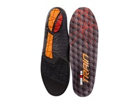 Spenco Ironman Train Insole Charcoal Red Insoles Accessories Shoes Black