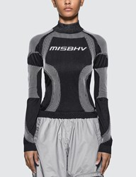 Misbhv Active Future Long Sleeve Top Black