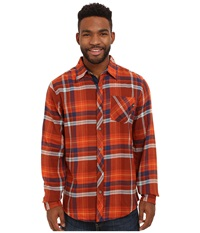 Marmot Anderson Flannel L S Mahogany Men's Long Sleeve Button Up