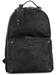Valentino Garavani Rockstud Backpack Black