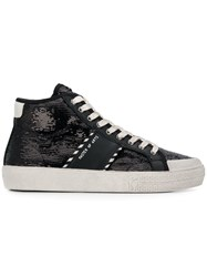 Moa Master Of Arts Sequin Embellished Sneakers Black