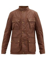 Belstaff Fieldmaster Waxed Cotton Jacket Light Brown