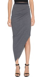 Bec And Bridge Vital Asymmetrical Skirt Charcoal