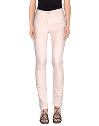 Cambio Denim Denim Trousers Women Light Pink