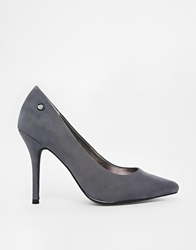Blink Pointed Court Shoes Grey