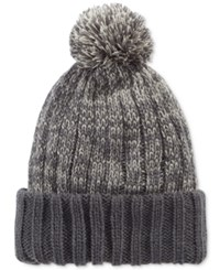 Levi's Men's Pom Beanie Hat Charcoal