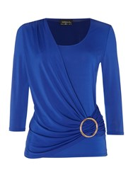 Episode Long Sleeve Top With Hardwear Blue