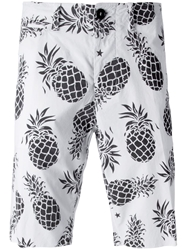 The Editor Pineapple Print Shorts