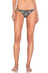 Nightcap 2 String Bikini Bottoms Black