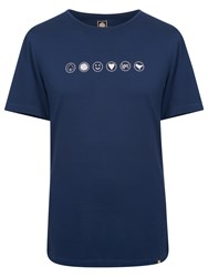 Pretty Green Rushcroft T Shirt Navy