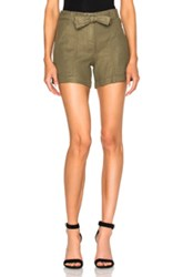 A.L.C. Gregory Shorts In Green