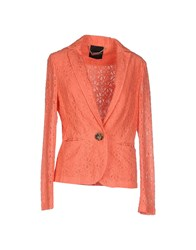 Mariella Rosati Suits And Jackets Blazers Women Coral