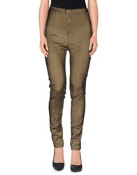 Jovonna Casual Pants Gold