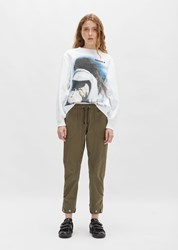 Tim Coppens Cargo Drawcord Trouser Military