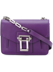 Proenza Schouler 'Hava' Shoulder Bag Pink And Purple