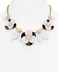 Kate Spade New York Floral Collar Statement Necklace 16 Pink Multi
