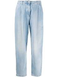 Magda Butrym Totenes High Waisted Jeans Blue