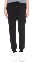 Alexander Wang Soft French Terry Sweatpants Black