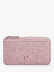 Ted Baker Lotta Leather Zipped Coin And Card Holder Pink
