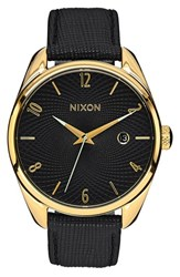 Nixon Women's 'The Bullet' Leather Strap Watch 38Mm