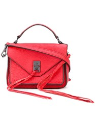 Rebecca Minkoff Flap Tote Women Leather One Size Red