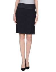 Ajay Skirts Knee Length Skirts Women Black