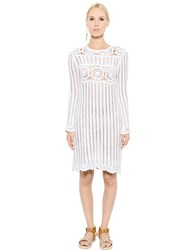 Etoile Isabel Marant Linen And Cotton Crocheted Dress