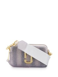 Marc Jacobs The Jelly Glitter Snapshot Bag Grey