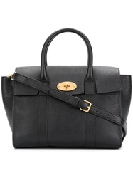 Mulberry Bayswater Small Leather Tote Black