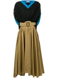 J.W.Anderson Jw Anderson A Line Belted Dress Brown