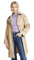 Sandy Liang Leesi Trench Coat Trench Lavender