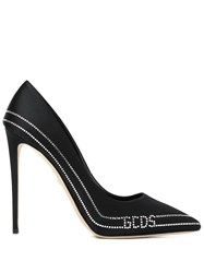 Gcds Embellished Stiletto Pumps Black