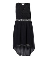 Junarose Embellished Chiffon Dress
