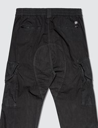 C.P. Company Cp Lens Detail Dyed Cargo Pants Black