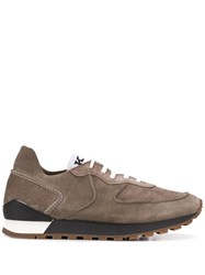 Kiton Classic Low Top Sneakers Neutrals