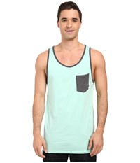 Billabong Zenith Tank Top Mint Heather Men's Sleeveless Green