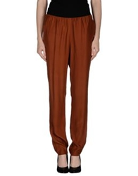 Magazzini Del Sale Casual Pants Brown