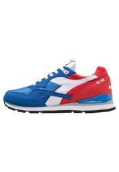 Diadora N92 Trainers Poppy Red Imperial Blue