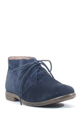 Chelsea Crew Junior Suede Chukka Boot Blue
