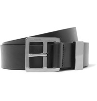 Lanvin 3Cm Black Leather Belt