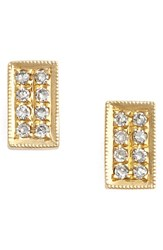 Dana Rebecca Women's Designs 'Katie' Diamond Stud Earrings Yellow Gold